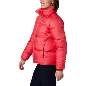 Columbia Puffect Jacke Damen bright geranium